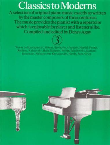 Classics to Moderns 3