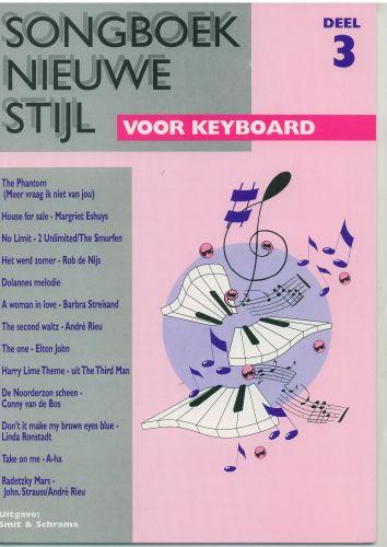 Songboek nieuwe stijl voor keyboard 3