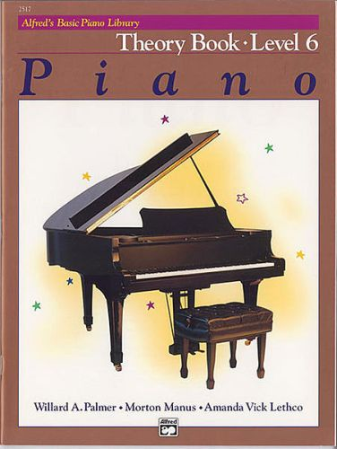 Alfred's Piano Theory Book 6