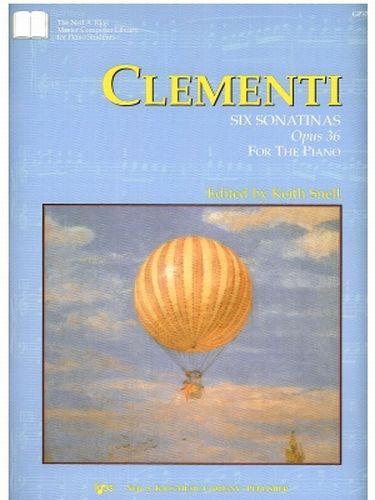 Clementi six sonatinas Opus 36 Piano