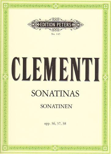 Clementi - Sonatinen opp. 36, 37, 38