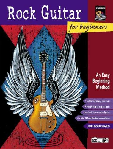 Alfred Rock Guitar for beginners +cd