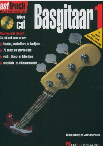 Hal Leonard Fast Track Basgitaar 1 +cd