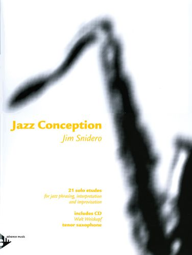 Jazz Conseption Tenor Sax +cd