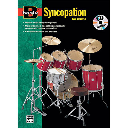Basix Syncopation for drums +cd