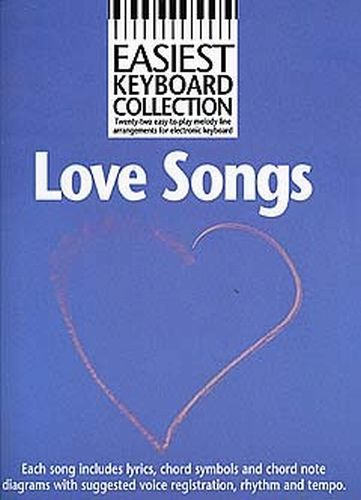 Easiest Keyboard Collection Love Songs