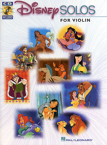 Disney solo's for violin +cd