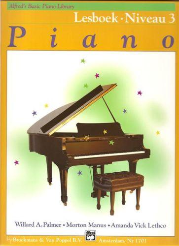 Alfred's Basic Piano Lesboek 3