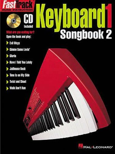 Fast Track Keyboard 1 Songbook 2 +cd