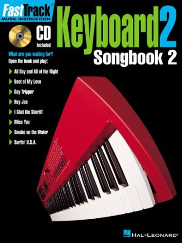Fast Track Keyboard 2 Songbook 2 +cd