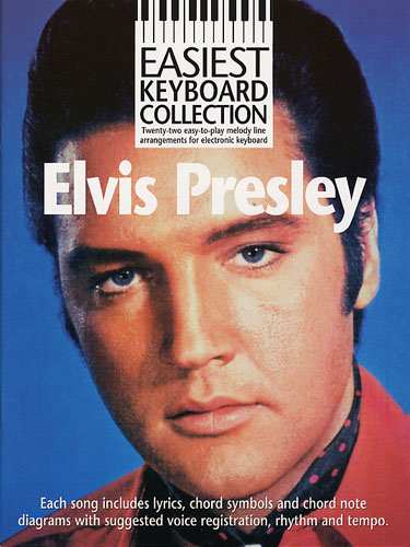 Easiest Keyboard Collection Elvis Presly