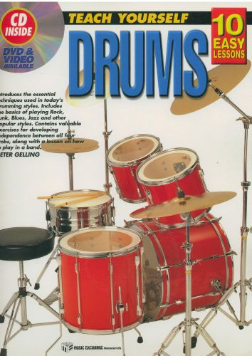 Teach yourself Drums 10 Easy Lessons +cd
