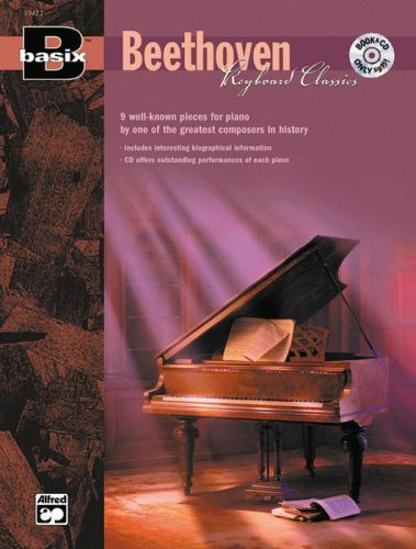 Basix Beethoven keyboard Classic +cd
