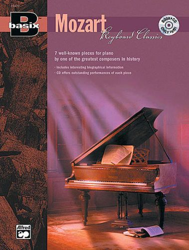 Basix Mozart keyboard classic +cd