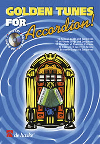 Golden Tunes for Accordion +cd