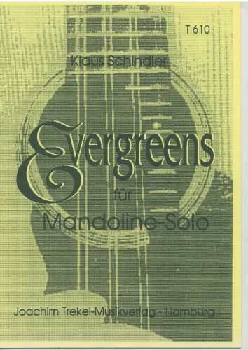 Evergreens fur Mandoline Solo