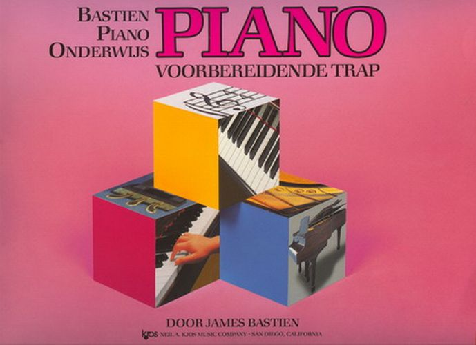 Bastien Piano Basics voorbereidende trap