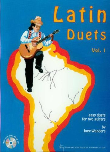 Latin Duets Vol.1 +cd Joep Wanders