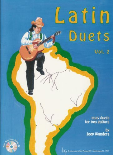 Latin Duets Vol.2 +cd Joep Wanders