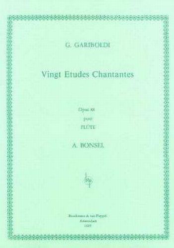 Gariboldi - Vingt Etudes Chantantes