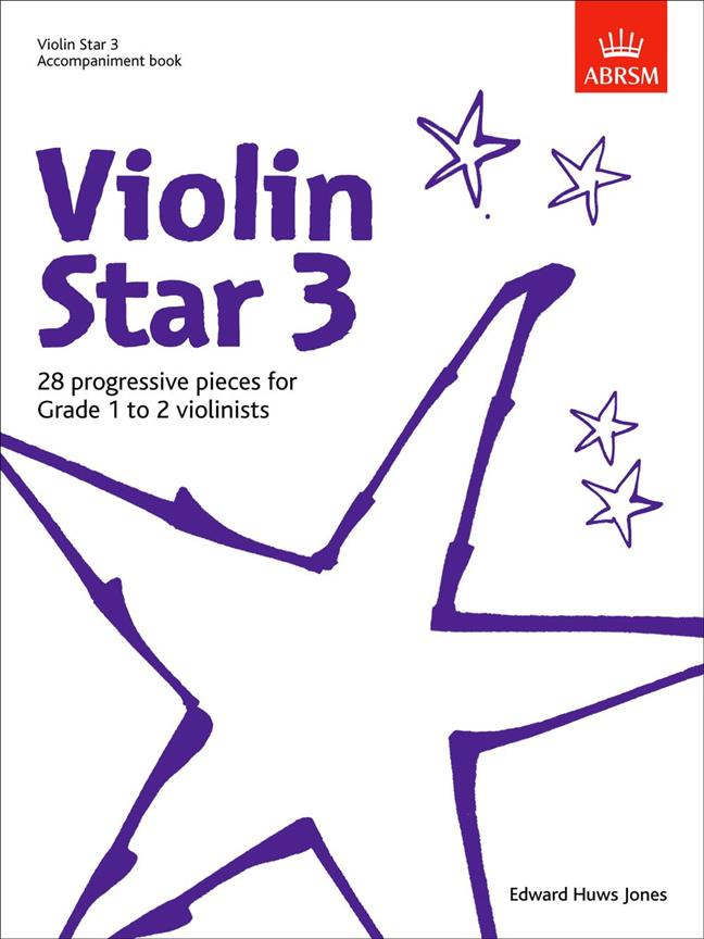 Violin Star 3, Accompaniment book