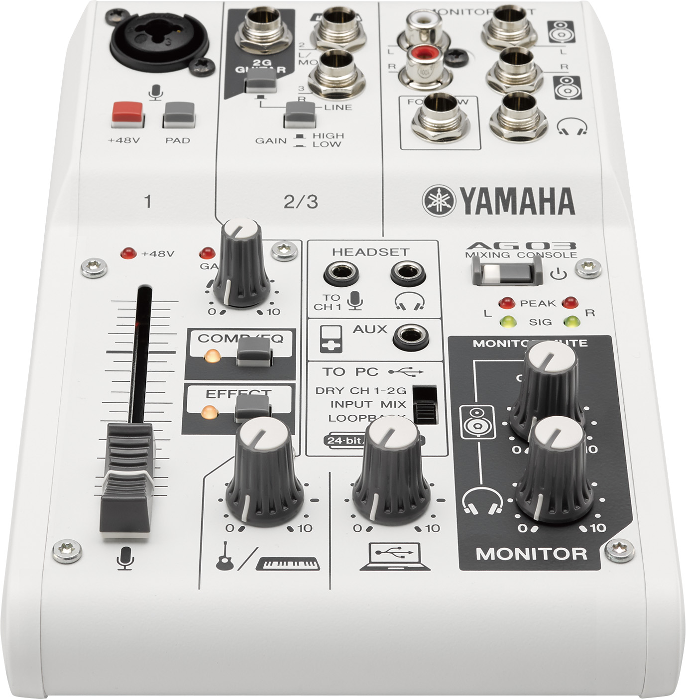 Yamaha AG03 USB audio interface