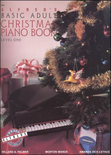 Alfred's Basic Adult Christmas Piano Book 1