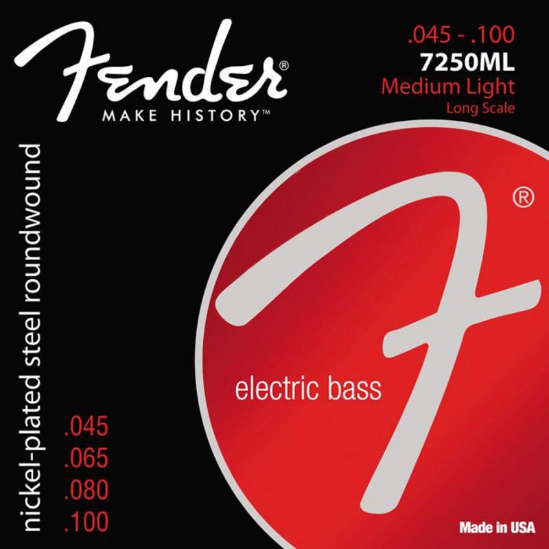 Fender 7250ML .045- .100 drie sets aanbieding