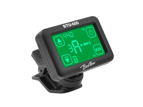 Boston BTU-600 Chromatische clip-on tuner