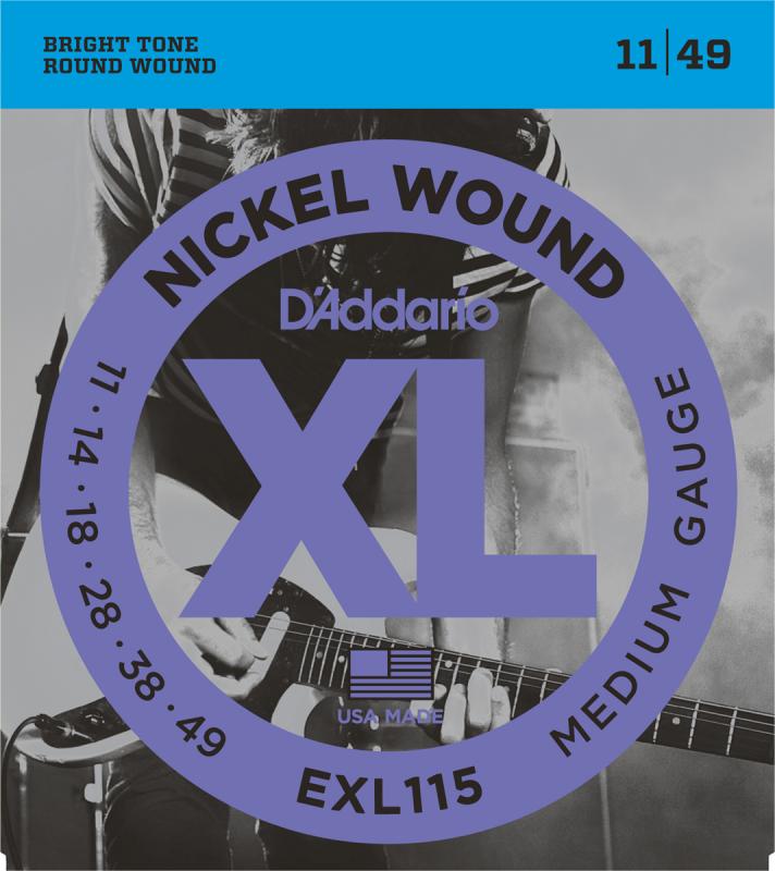 D'Addario - CDD EXL115