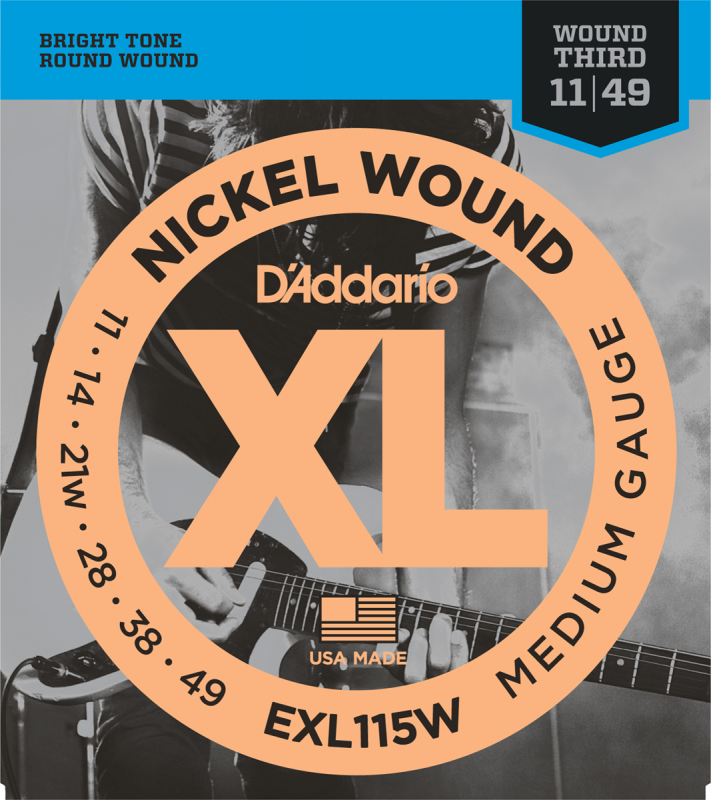 D'Addario - CDD EXL115W