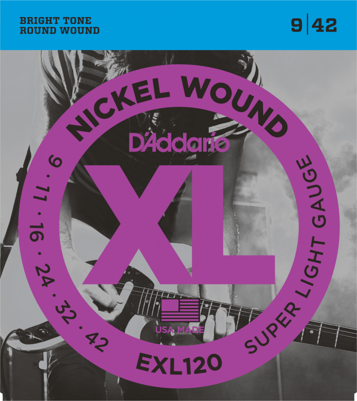D'Addario - CDD EXL120