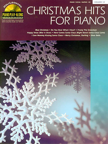 Christmas hits for piano Vol.12 +cd