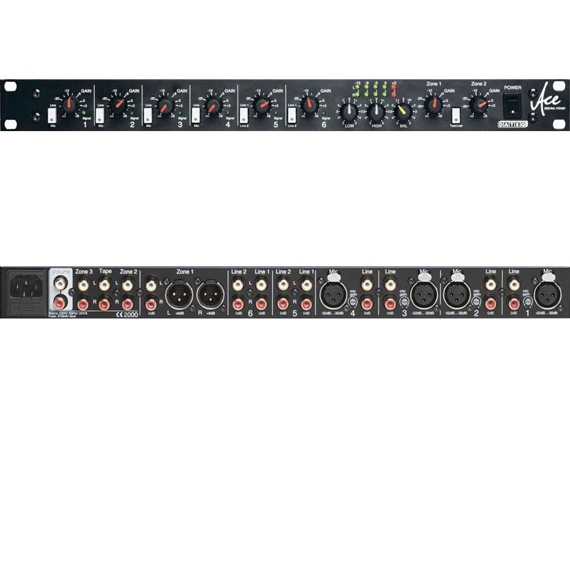 Dateq Ace Multizone mixer