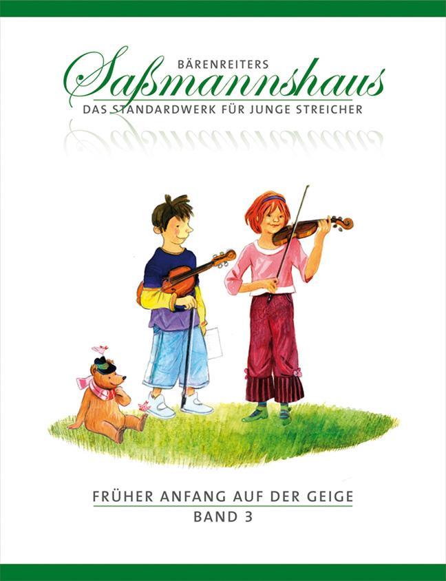 Egon Sassmannshaus Fruher Anfang auf der Geige Band 3