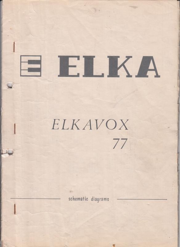 Schema ElkaVox 77
