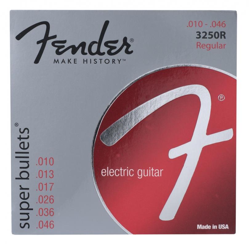 Fender 3250R .010- .046 drie set aanbieding