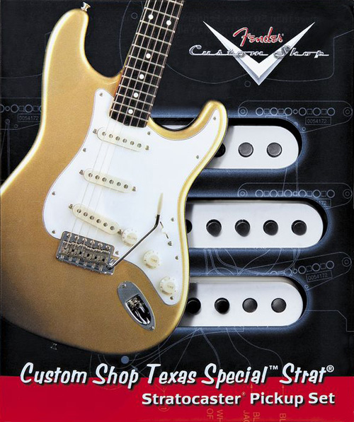 Fender Custom Shop Texas Special Stratocaster Pickups