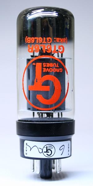 Groove Tubes GT-6L6-RB 4-set