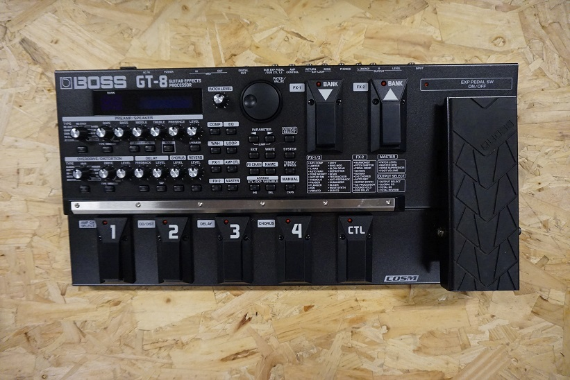 Boss GT-8 multi effect processor (Occasion 2).