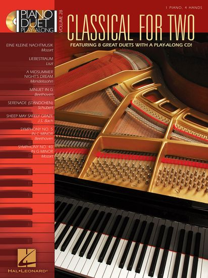 Piano Duet Play Along Vol. 28: Classical For Two
