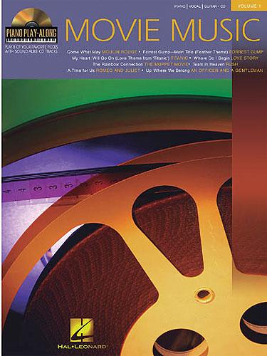 Piano Play-along Vol. 1: Movie Music