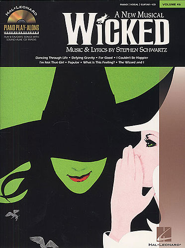 Piano Play-Along Vol. 46: Wicked