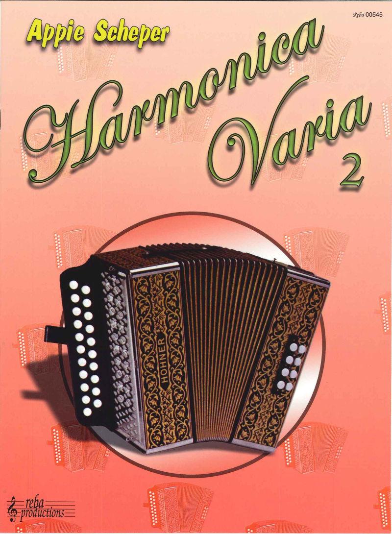 Harmonica Varia deel 2, Appie Scheper