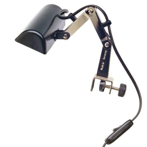 K&M 122e Muziekstatief lamp