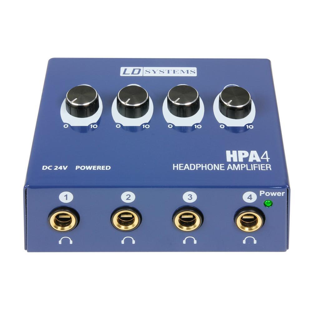 LD Systems LDHPA4 hoofdtelefoonversterker
