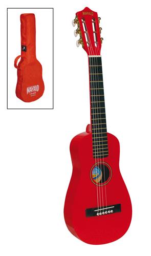 Ukelele gitaar rood
