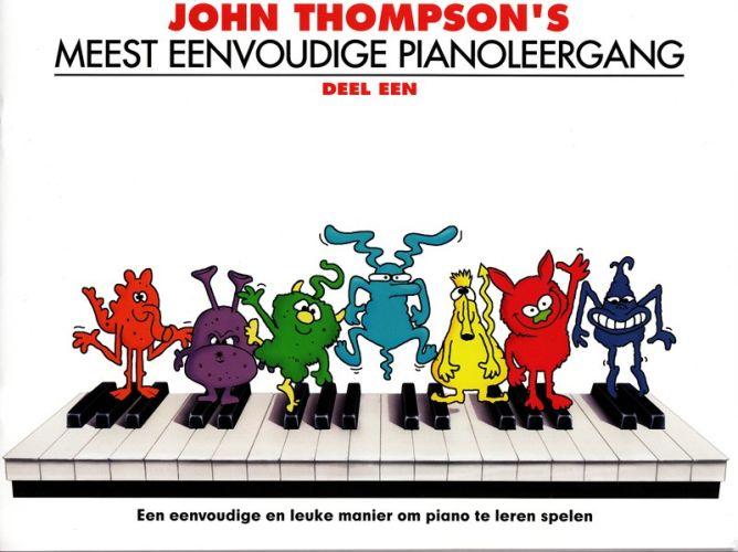 Meest eenvoudige pianoleergang 1