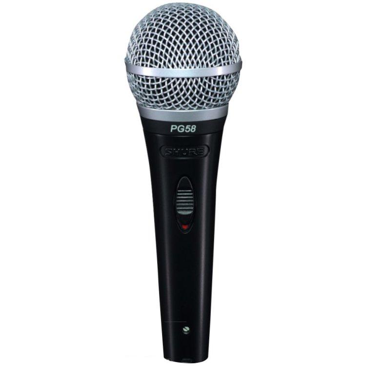 Shure PGA58 XLR zangmicrofoon