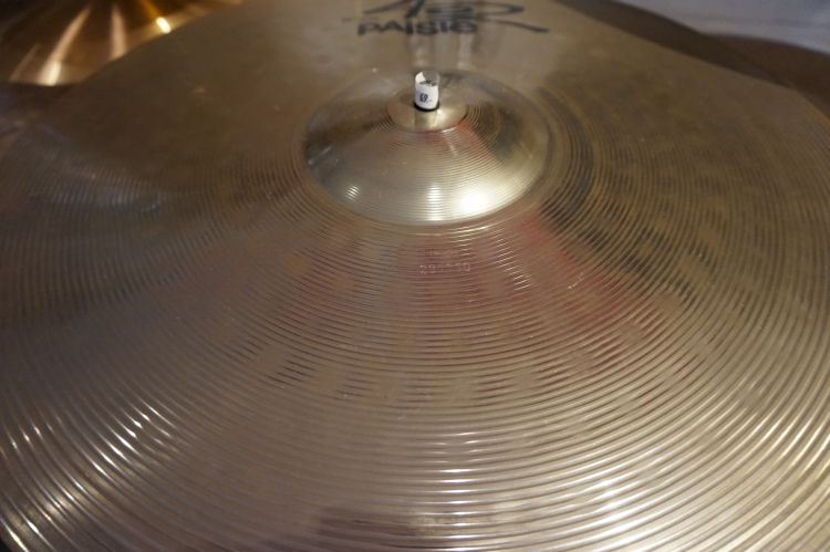 "Paiste 402 nickel silver 20"" ride occ."